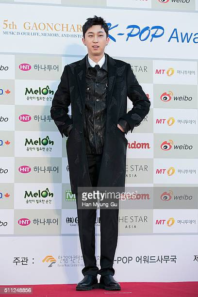 Singer SLEEPY attends the 5th Gaon Chart K-Pop Awards on February 17, 2016 in Seoul, South Korea.