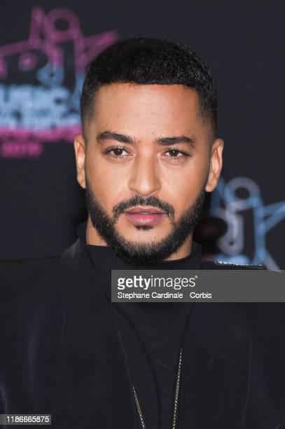 Singer Slimane Nebchi a.k.a. Slimane attends the 21st NRJ Music Awards At Palais des Festivals on November 09, 2019 in Cannes, France.