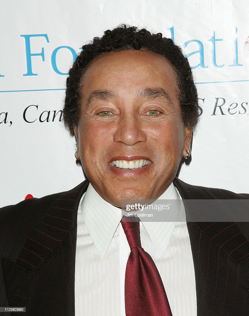 Singer Smokey Robinson arrives at the 32nd Annual T.J. Martell Foundation Gala at the New York Hilton and Towers On October 23, 2007 in New York City.