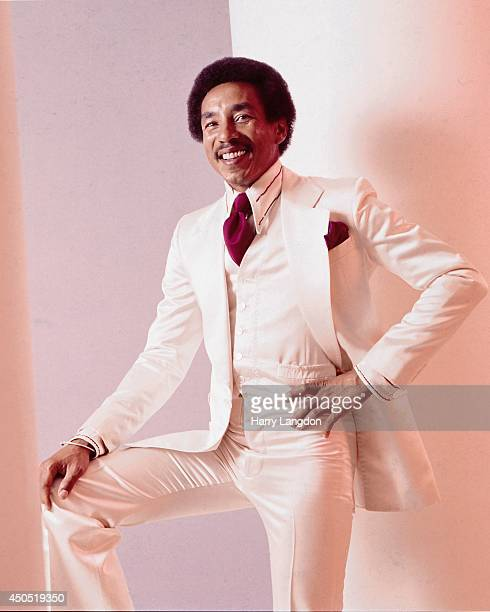 Singer Smokey Robinson poses for a portrait in 1978 in Los Angeles California