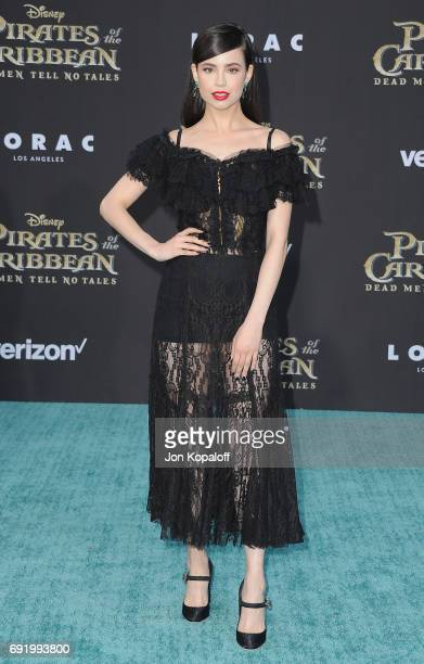 Singer Sofia Carson arrives at the Los Angeles Premiere 'Pirates Of The Caribbean Dead Men Tell No Tales' at Dolby Theatre on May 18 2017 in...