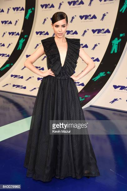 Singer Sofia Carson attends the 2017 MTV Video Music Awards at The Forum on August 27 2017 in Inglewood California