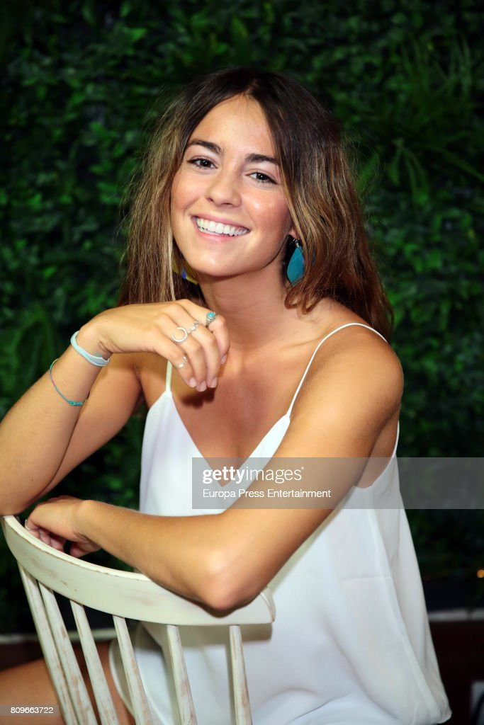 Singer Sofia Ellar poses for a photo session on July 5, 2017 in Madrid, Spain.