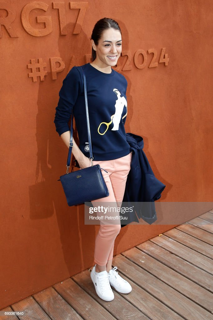 Celebrities At  2017 French Open - Day Eleven