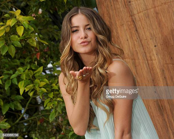 Singer Sofia Reyes arrives at the premiere of Warner Bros Pictures' 'The Legend Of Tarzan' at TCL Chinese Theatre on June 27 2016 in Hollywood...
