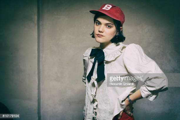 Singer SoKo aka Stephanie Sokolinski is photographed on June 9 2017 in Rome Italy