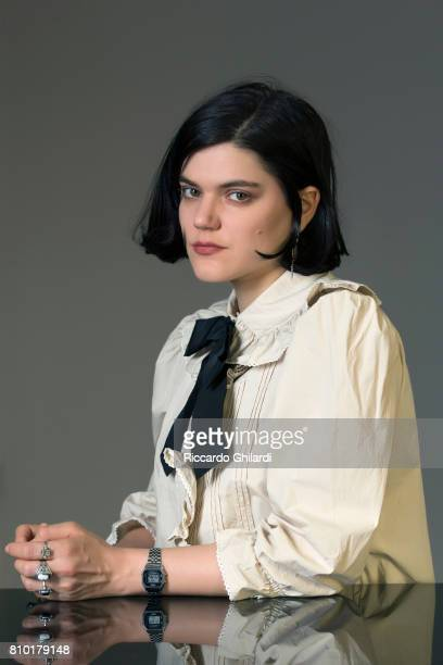 Singer SoKo aka Stephanie Sokolinski is photographed on June 9 2017 in Rome Italy