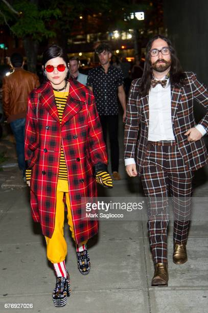Singer SoKo and Sean Lennon attend the Gucci Bloom Celebration at PS1 MoMA on May 2 2017 in New York City
