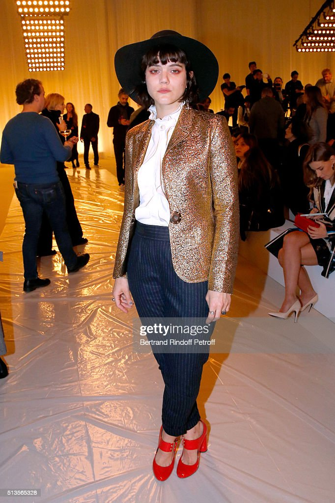 Lanvin : Front Row  - Paris Fashion Week Womenswear Fall/Winter 2016/2017