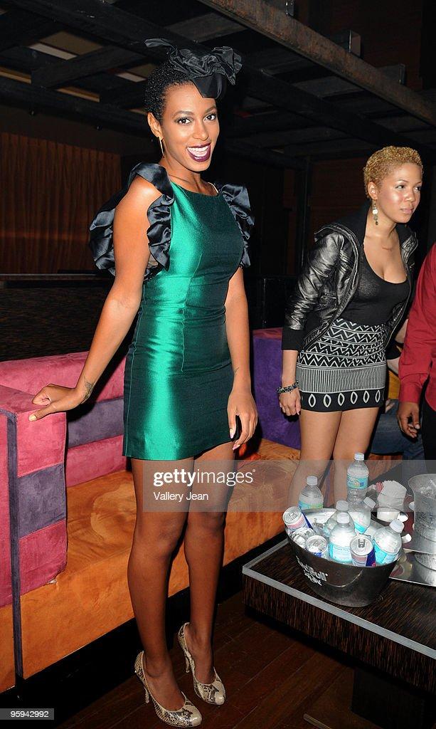 Solange Knowles Hosts Mia Biscayne News Photo