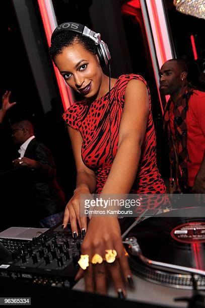 """Exclusive*** Singer Solange Knowles attends Beyonce's First Fragrance Launch After Party for """"Beyonce Heat"""" - Catch the Fever at 15 Union Square West..."""