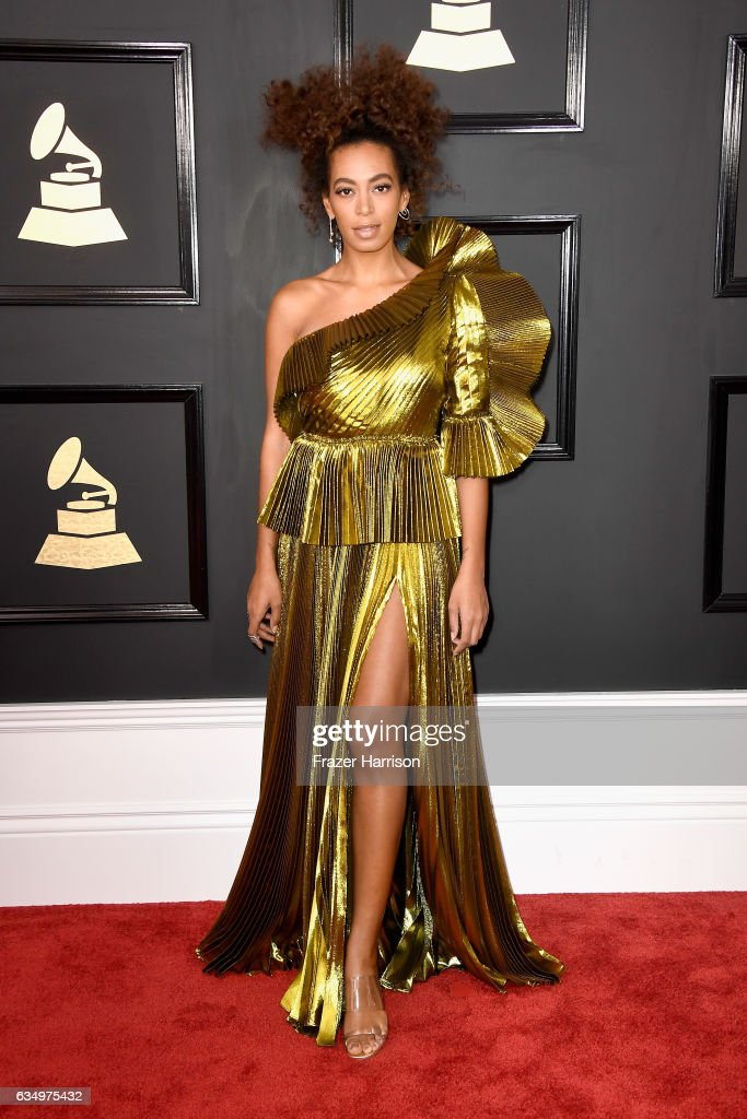The 59th GRAMMY Awards - Arrivals