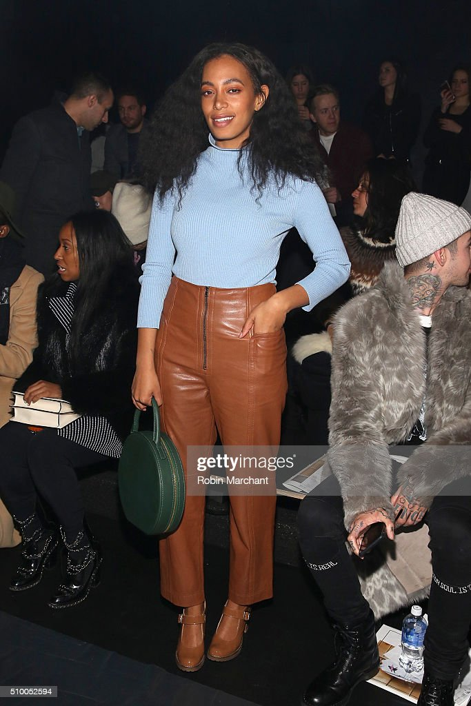 Baja East- Front Row - Fall 2016 New York Fashion Week: The Shows