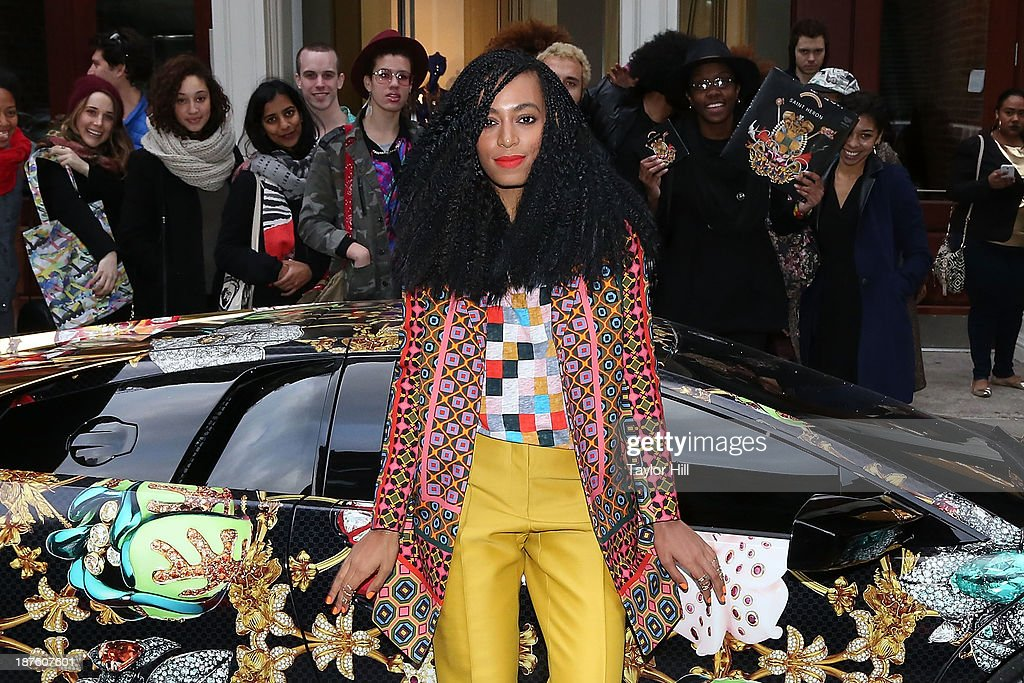 "Solange Knowles Celebrates The Release of Her ""Saint Heron"" Compilation Album : News Photo"