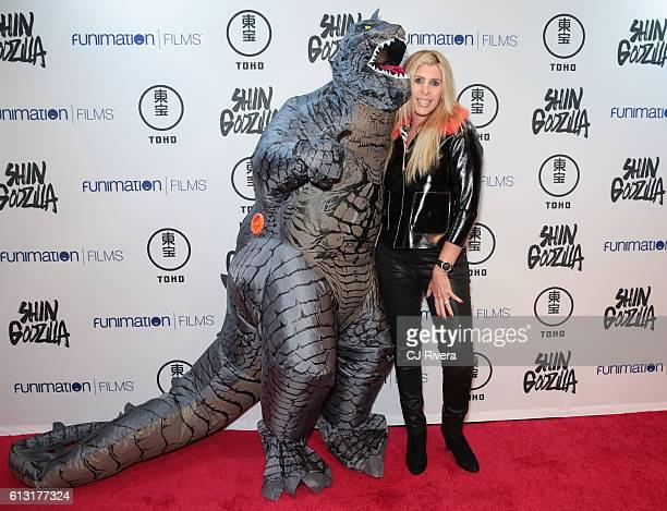 Singer Soleil J attends 'Shin Godzilla' New York Comic Con Premiere on October 5 2016 in New York City