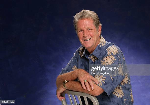Singer song writer and founding member of The Beach Boys Brian Wilson poses for a Portrait session on August 6 2007 in Los Angeles California