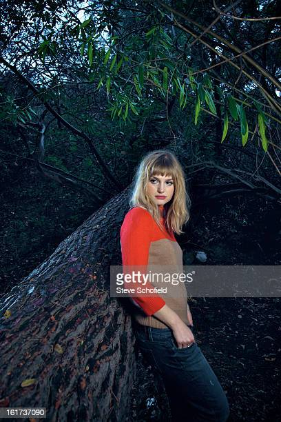 Singer songwriter A Fine Frenzy aka Alison Sudol is photographed on November 17 2012 in Los Angeles California