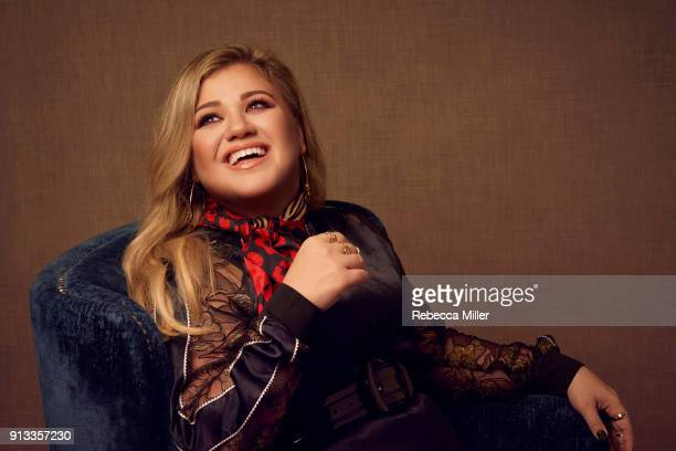 Singer songwriter actress and author Kelly Clarkson is photographed for You Magazine on July 14 2017 in London England