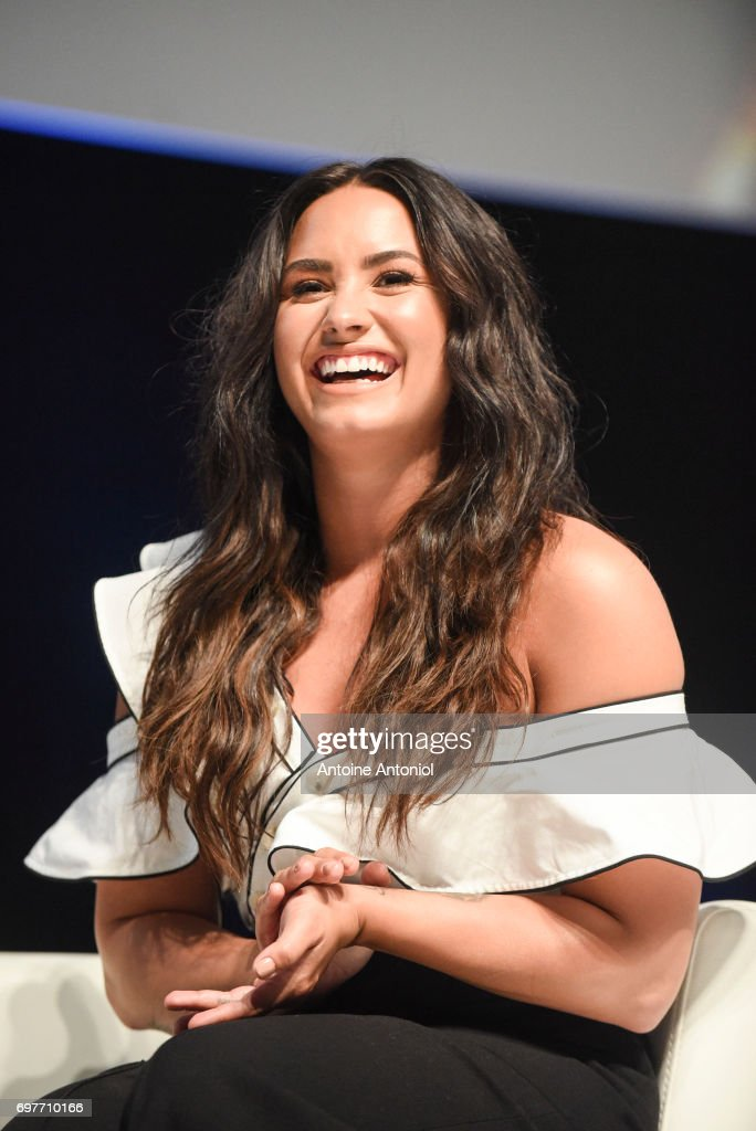 Singer, songwriter and actor Demi Levato attends the Cannes Lions Festival 2017 on June 19, 2017 in Cannes, France.