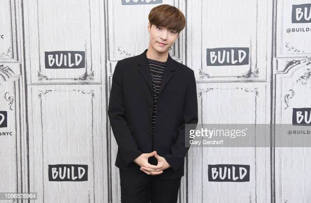 Singer songwriter and dancer Lay Zhang visits Build Series to discuss his new album 'NAMANANA' at Build Studio on November 2 2018 in New York City