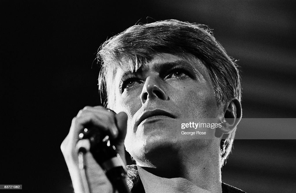 Singer David Bowie in Concert : News Photo