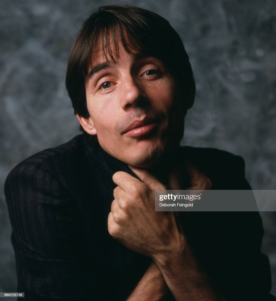 Singer, songwriter and guitarist Jackson Browne poses for a portrait in 1983 in Worcester, MA.