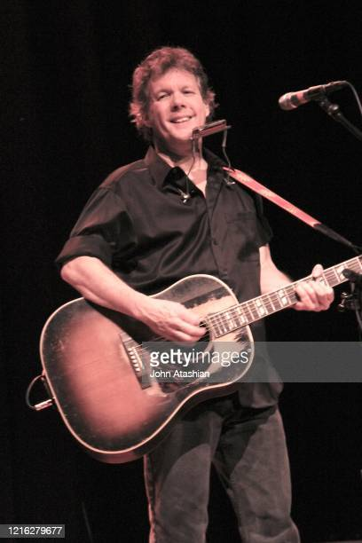 """Singer, songwriter and guitarist Steve Forbert is shown performing on stage during a """"live"""" concert appearance on January 13, 2011."""