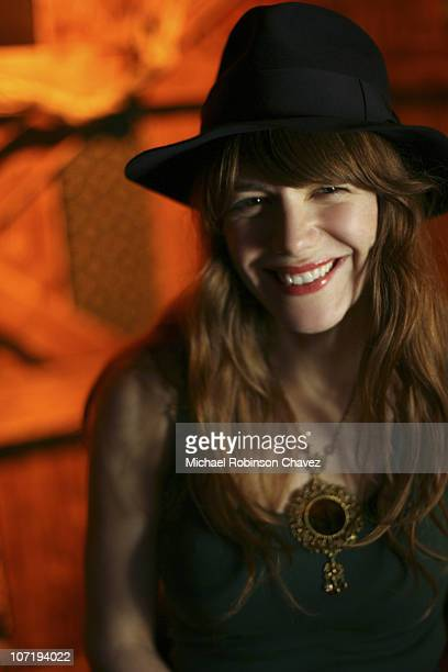 Singer Songwriter and member of indie rock band Rilo Kiley Jenny Lewis poses for a portrait session for the Los Angeles Times on September 23 Los...