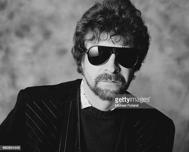 Singer, songwriter and musician, Jeff Lynne, of English rock group The Electric Light Orchestra, February 1985.