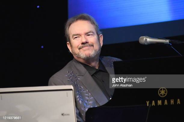 Singer songwriter and musician Jimmy Webb is shown performing on stage during a live concert appearance on March 22 2018