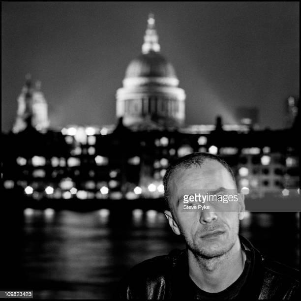 Singer songwriter and musician Matt Johnson of The The circa 1990