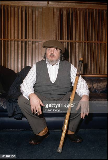 Singer, songwriter and pianist Dr. John sits for a portrait at Manhattan Studios on March 3 1996 in New York City, New York.