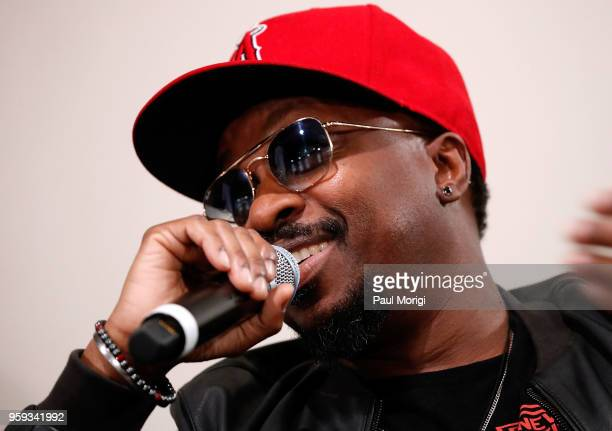 Singer songwriter and producer Anthony Hamilton participates in a panel discussion at the Vocal Health Clinic event hosted by The Recording Academy...