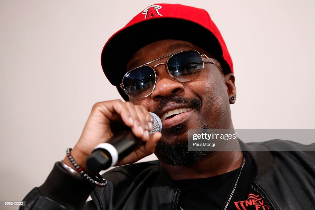 Singer, songwriter and producer Anthony Hamilton participates in a panel discussion at the Vocal Health Clinic event hosted by The Recording Academy WDC Chapter and MusiCares at the National Union Building on May 16, 2018 in Washington, DC.