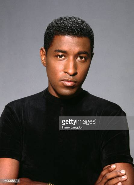 Singer songwriter and producer Kenneth 'Babyface' Edmonds poses for a portrait in 1992 in Los Angeles California