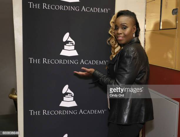 Singer/ songwriter Andrea Martin attends the GRAMMY Pro Songwriters Summit Women Making Music at The Apollo Theater on March 20 2017 in New York City