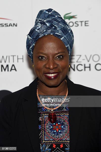 Singer/ songwriter Angelique Kidjo attends the 2016 RendezVous With French Cinema 'Valley Of Love' Opening Night Screening at Walter Reade Theater on...