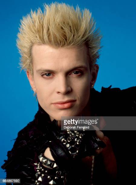 Singer, songwriter Bill Idol poses for a portrait in January 1984 in New York City, New York.