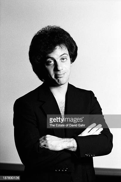 Singer songwriter Billy Joel poses for a portrait in Octoberl 1978 in Chicago Illinois