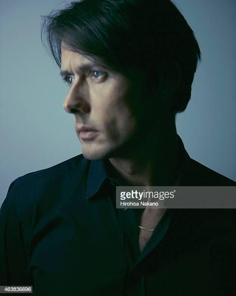 Singer songwriter Brett Anderson is photographed on August 23 2011 in Tokyo Japan