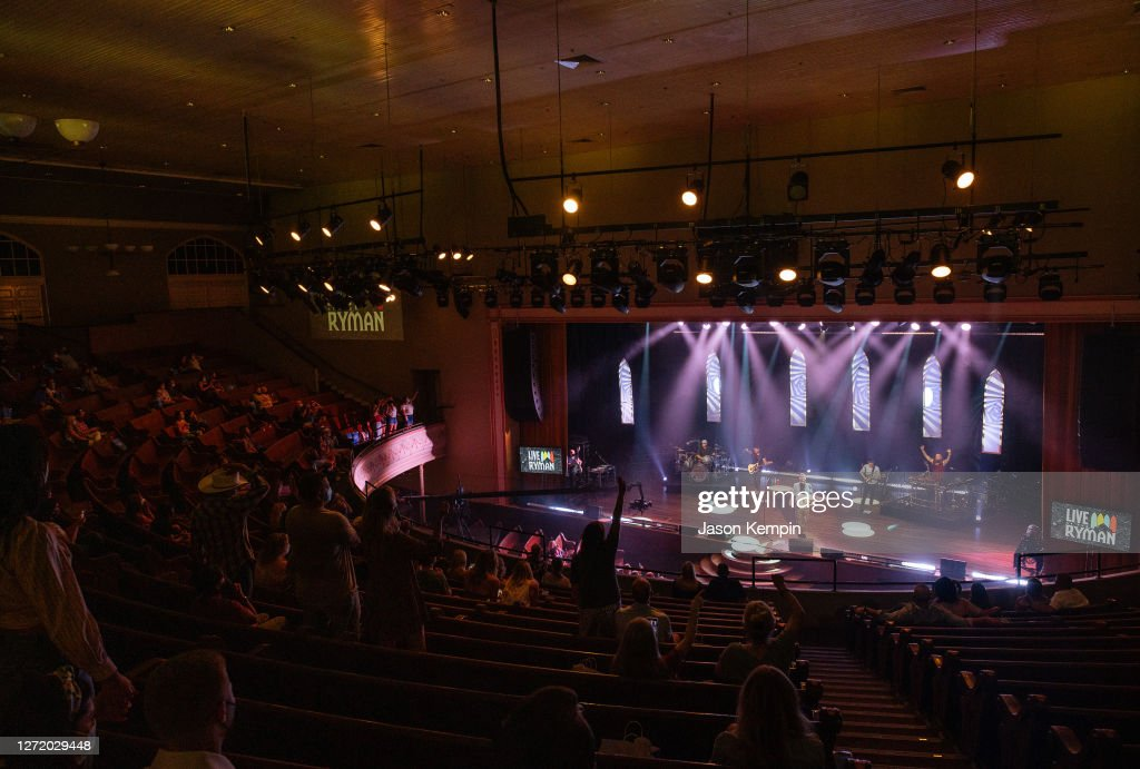 Live At The Ryman Livestream Experience Featuring Brett Young : News Photo