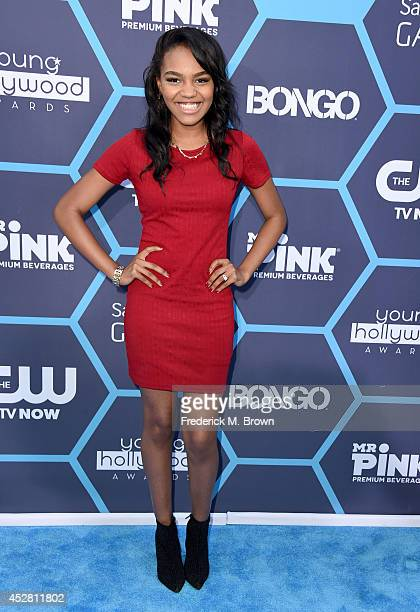 Singer songwriter China Anne McClain attends the 2014 Young Hollywood Awards brought to you by Samsung Galaxy at The Wiltern on July 27 2014 in Los...