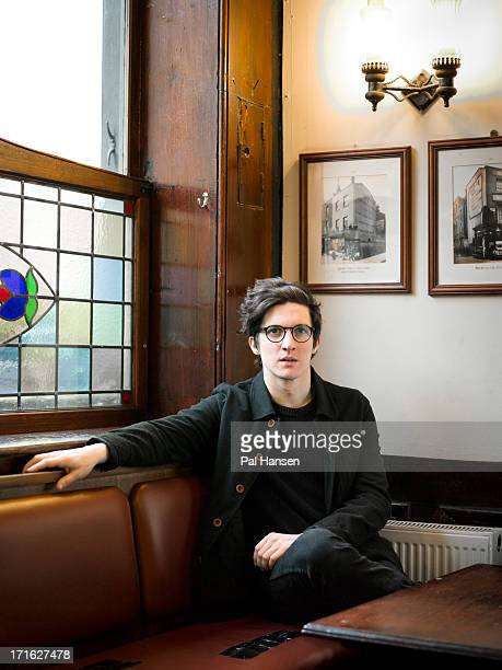Singer songwriter Dan Croll is photographed for Under the Radar on February 13 2013 in London England