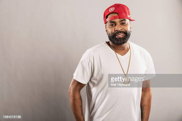 Singer songwriter dancer and actor Ginuwine poses for a portrait during a visit to the Hot 1037 Studio on January 17 2019 in Seattle Washington