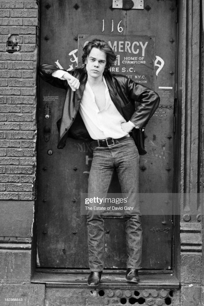 Singer songwriter David Johansen poses for a portrait on March 30, 1978 in New York City, New York.