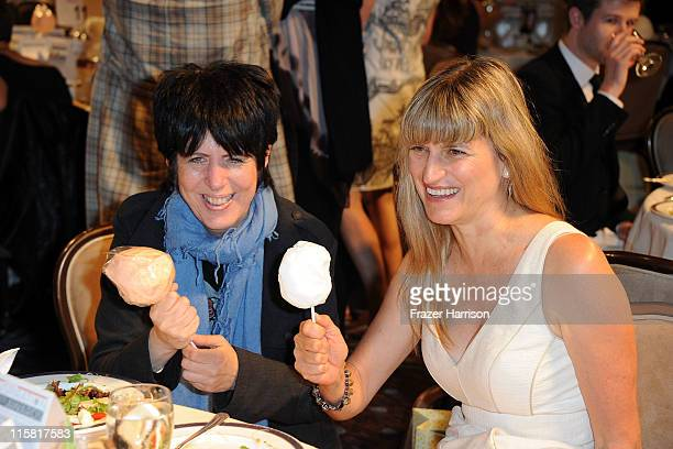 Singer Songwriter Diane Warren and Director Catherine Hardwicke pose at the Step Up Women's Network's 8th Annual Inspiration Awards at the Beverly...