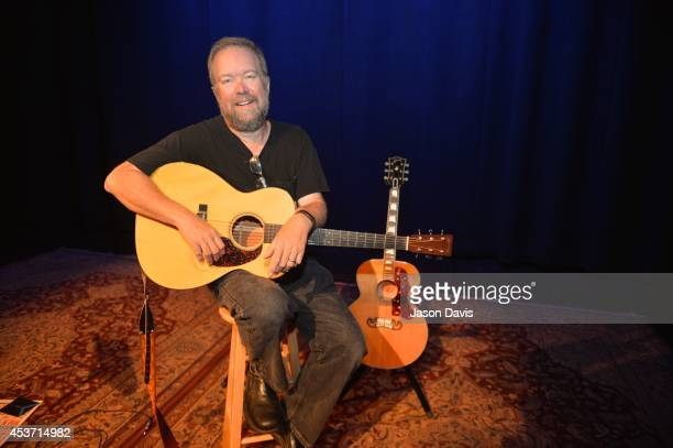 Singer Songwriter Don Schlitz arrives at Country Music Hall of Fame and Museum on August 16, 2014 in Nashville, Tennessee.