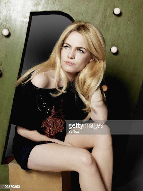 Singer/ songwriter Duffy poses for a portrait session in London for Marie Claire UK. PUBLISHED IMAGE.
