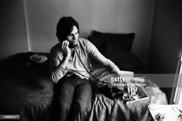 Singer songwriter Eric Anderson poses for a portrait on May 4 1971 at the Chelsea Hotel in New York City New York