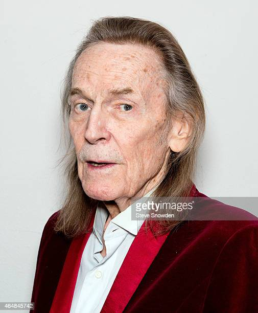 Singer / Songwriter Gordon Lightfoot poses backstage following his performance at Route 66 Casinos Legends Theater on February 28 2015 in Albuquerque...